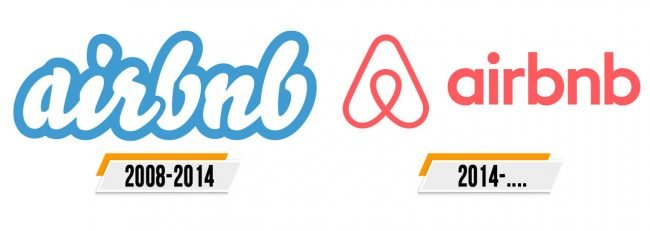 Airbnb Logo Histoire