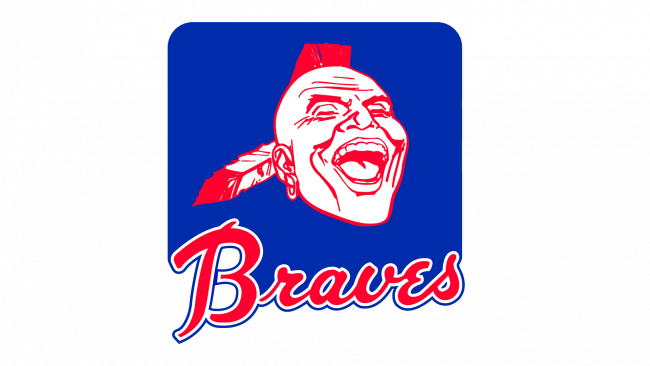 Atlanta Braves Logo 1972-1984
