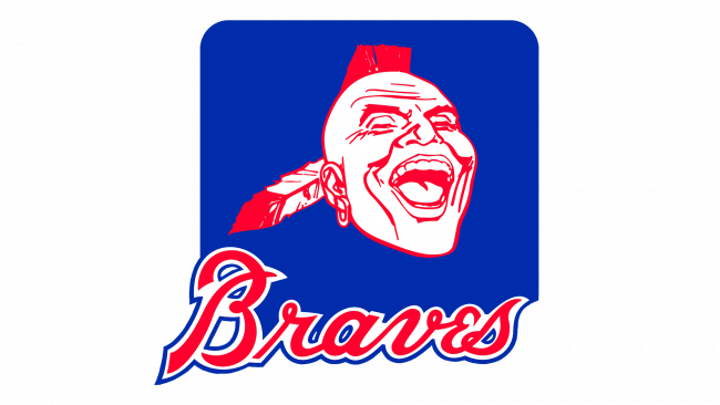 Atlanta Braves Logo 1985-1986