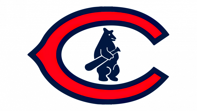 Chicago Cubs logo 1927-1936