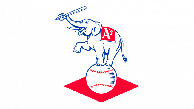 Kansas City Athletics Logo 1955-1967