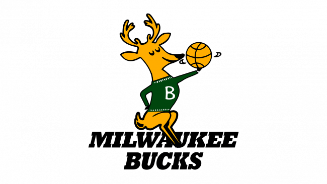 Milwaukee Bucks Logo 1968-1993