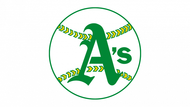 Oakland Athletics Logo 1968-1970