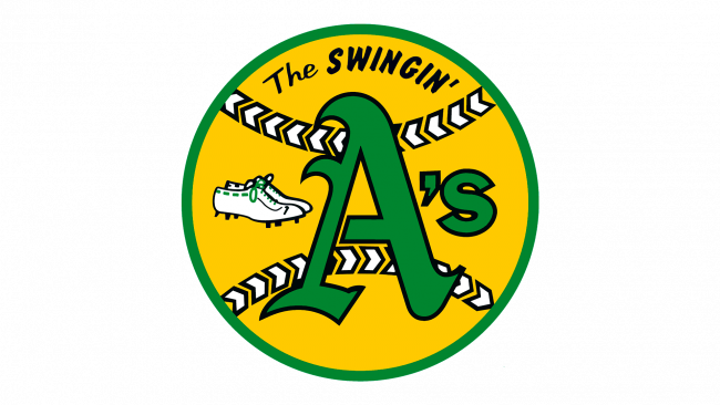Oakland Athletics Logo 1971-1981
