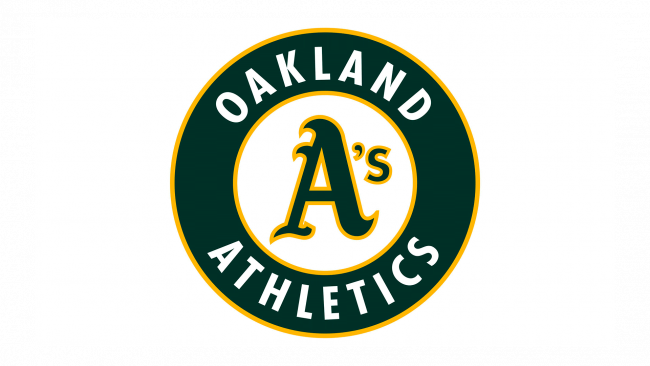 Oakland Athletics Logo 1993-Present