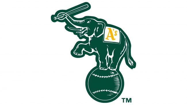 Oakland Athletics Symbole