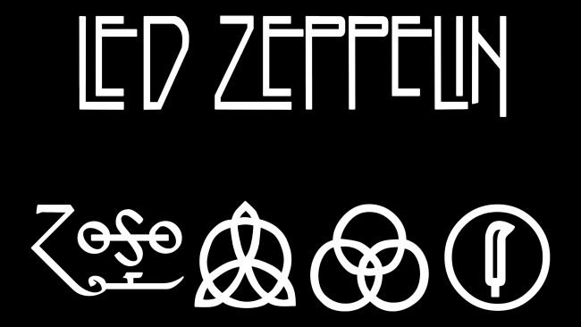 Led Zeppelin Embleme
