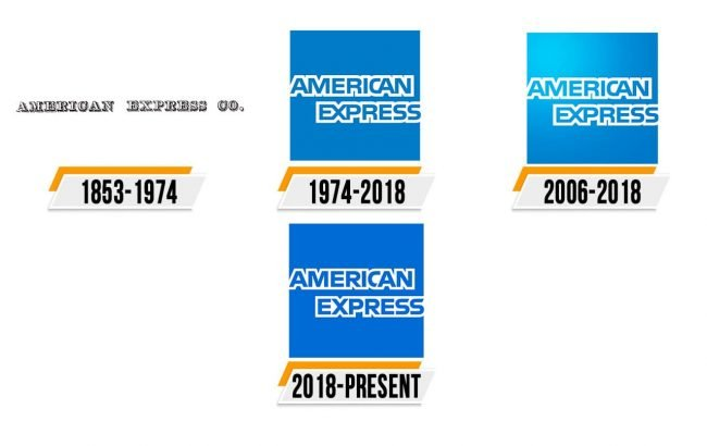 American Express Logo Histoire