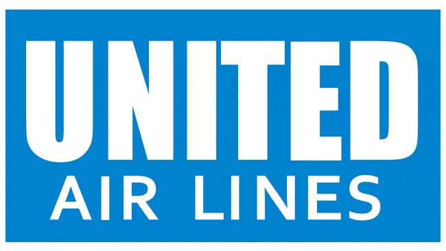United Airlines Logo 1935-1939