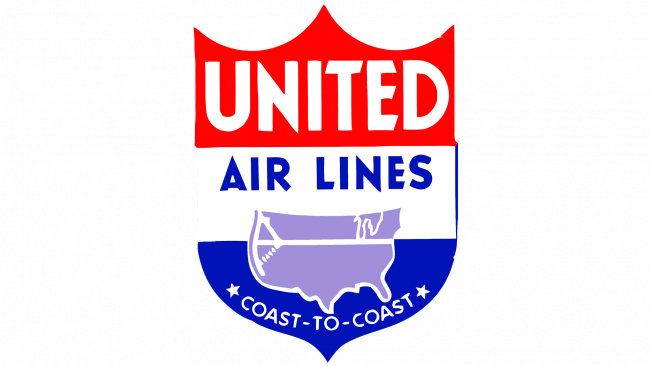 United Airlines Logo 1939-1940