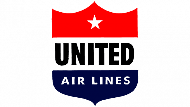 United Airlines Logo 1940-1954