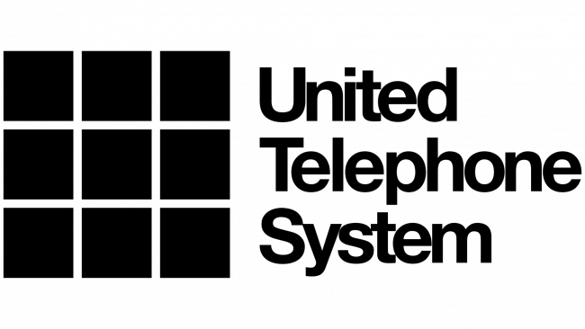 United Telephone System Logo 1972-1987